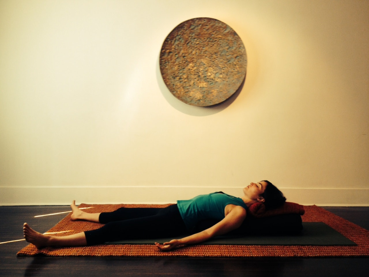 Are you sitting in front of a computer all day? Five yoga postures that can help